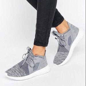 Adidas Originals Suede Tubular Defiant Sneakers